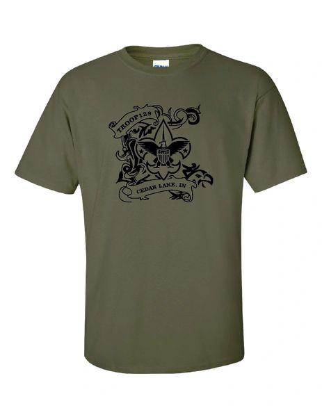 Troop 129 Ultra Cotton® T-Shirt REQUIRED CLASS B