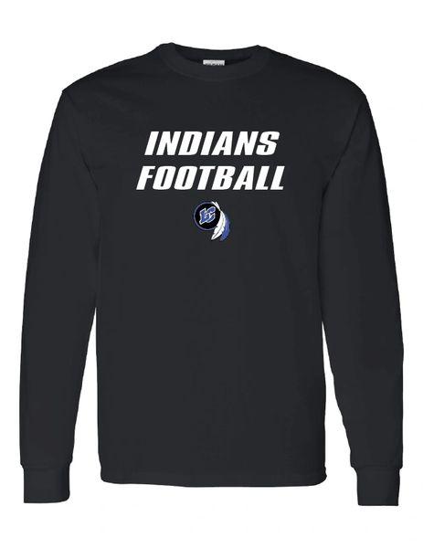Indians Football Long Sleeve T-Shirt