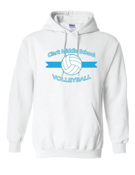 Clark Volleyball Hooded Sweatshirt