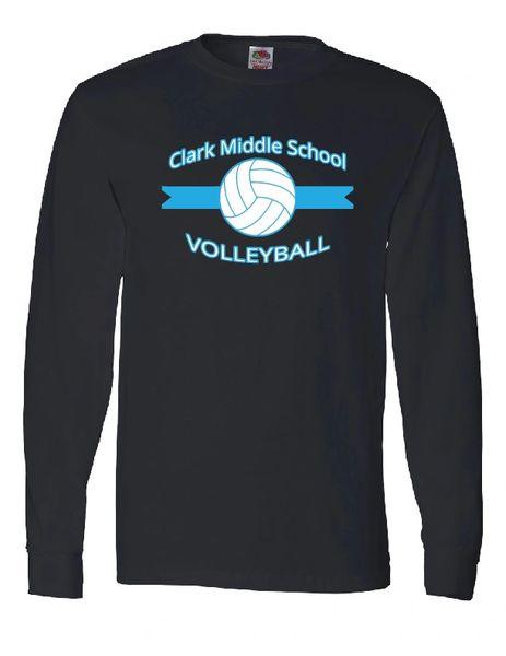 Clark Volleyball Long Sleeve