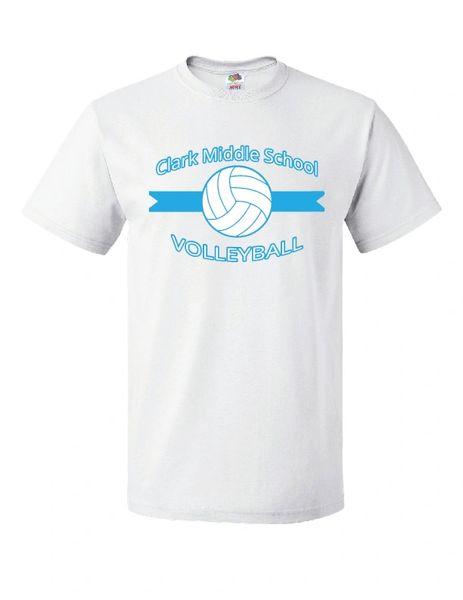 Clark Volleyball T-Shirt