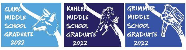 Middle School Graduate Yard Sign