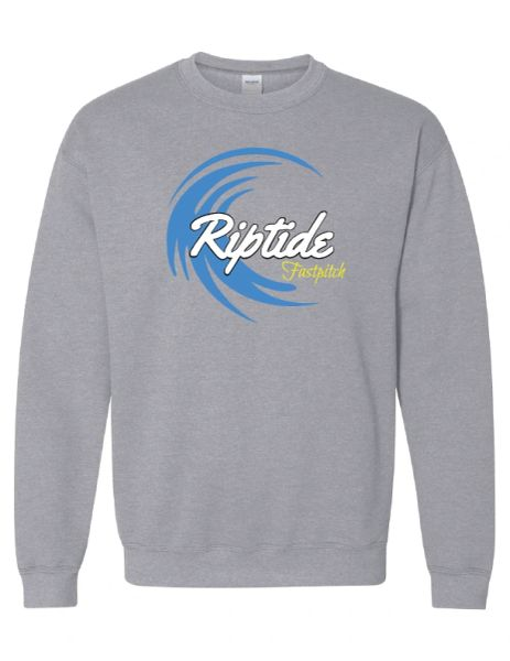 Riptide Fastpitch Wave Crewneck Sweatshirt