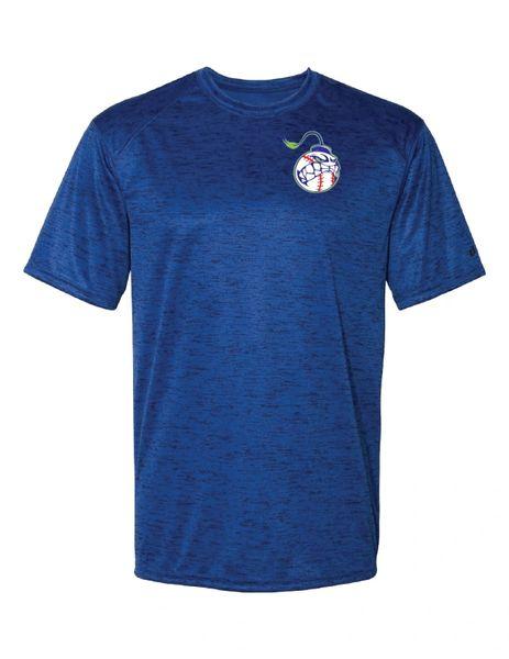 NWI Bombsquad Left Chest Tonal Blend T-shirt
