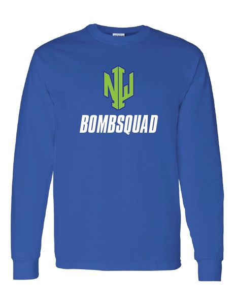 NWI Bombsquad Heavy Cotton Long Sleeve T-shirt