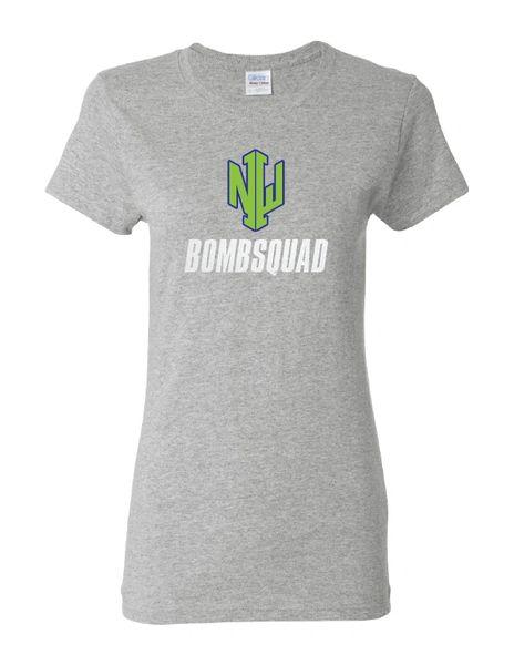 NWI Bombsquad Heavy Cotton Women's Glitter T-shirt