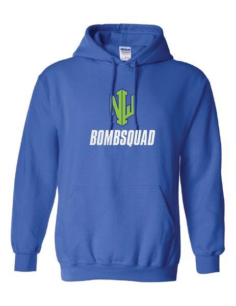 NWI Bombsquad Glitter Heavy Blend Hooded Sweatshirt