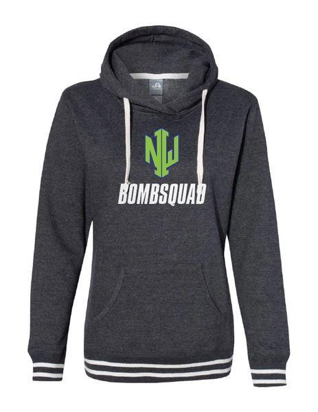NWI Bombsquad Women's Glitter Relay Hooded Sweatshirt