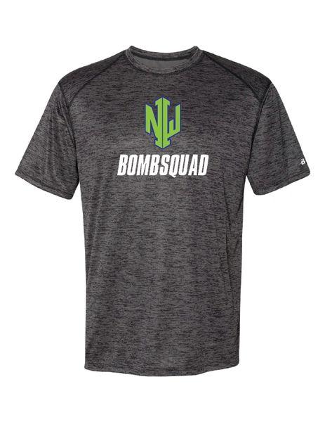 NWI Bombsquad Full Front Tonal Blend T-shirt