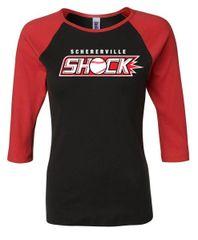 Shock Three Quarter Sleeve - Womens