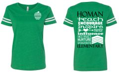Homan Wordle V-neck