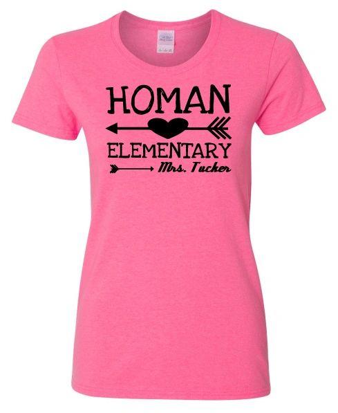 Homan Elementary Arrow Shirt
