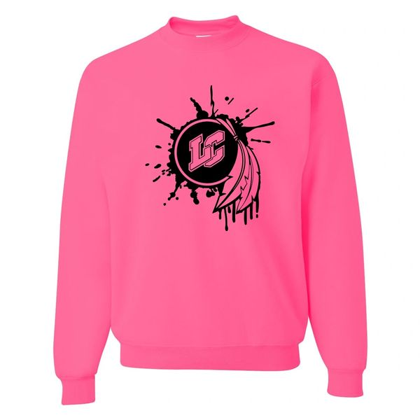 Lake Central Pink-Out Crewneck