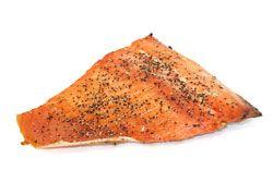 Peppered Alder Smoked King Salmon