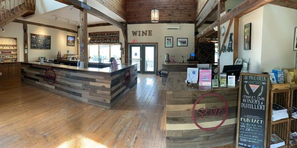 picture of our tasting room