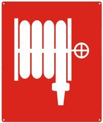 SYMBOL FIRE HOSE SIGN- REFLECTIVE !!! (ALUMINUM SIGNS 10X12)