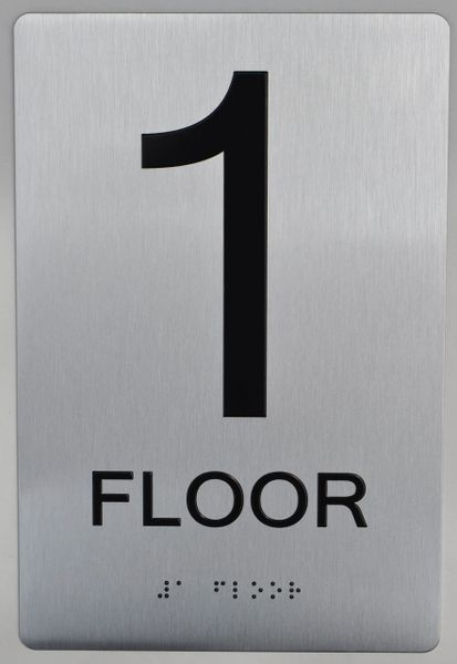 1ST FLOOR ADA SIGN - The sensation line