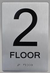 2ND FLOOR ADA SIGN - The sensation line