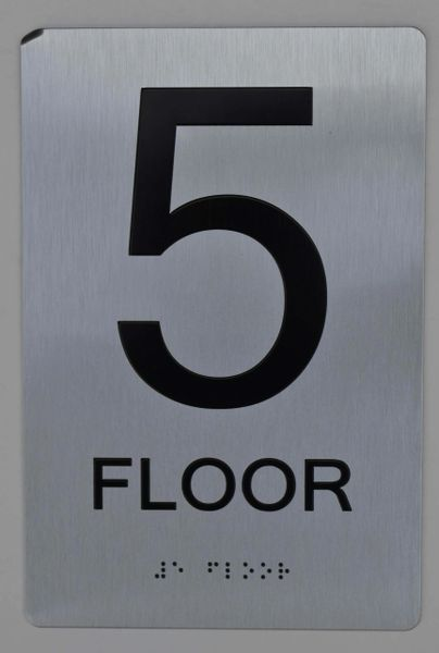 5th FLOOR ADA SIGN - The sensation line