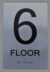 6th FLOOR ADA SIGN - The sensation line