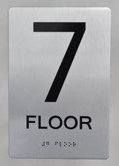 7th FLOOR ADA SIGN - The sensation line