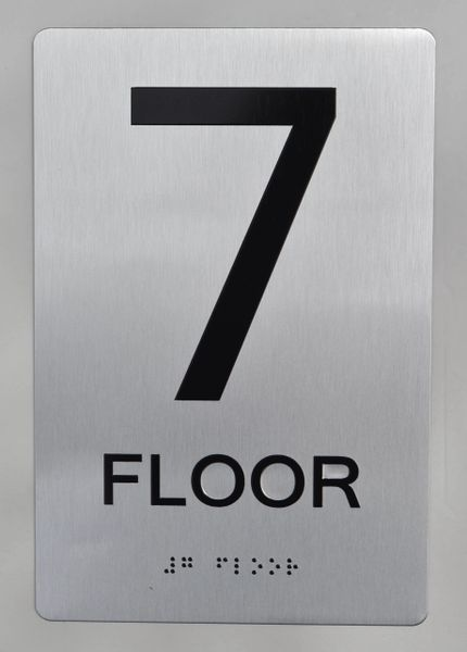 7th FLOOR ADA SIGN - The sensation line