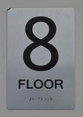 8th FLOOR ADA SIGN - The sensation line