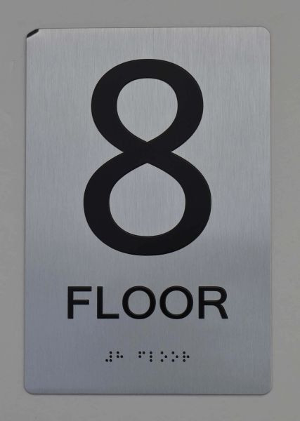 8th FLOOR ADA SIGN - The sensation line