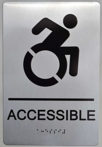 ACCESSIBLE ADA SIGN - The sensation line