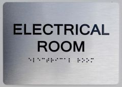 ELECTRICAL ROOM Sign ADA Sign - The sensation line