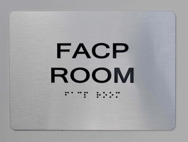FACP Room ADA Sign - The sensation line