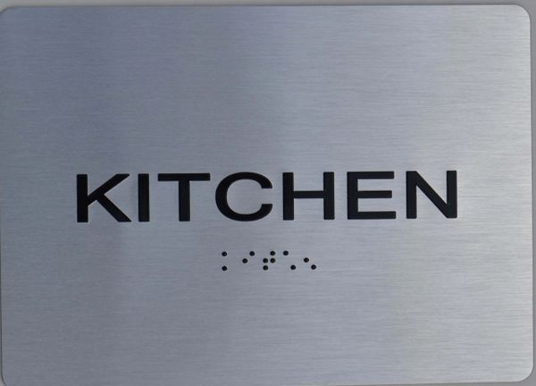 KITCHEN Sign ADA Sign The sensation line