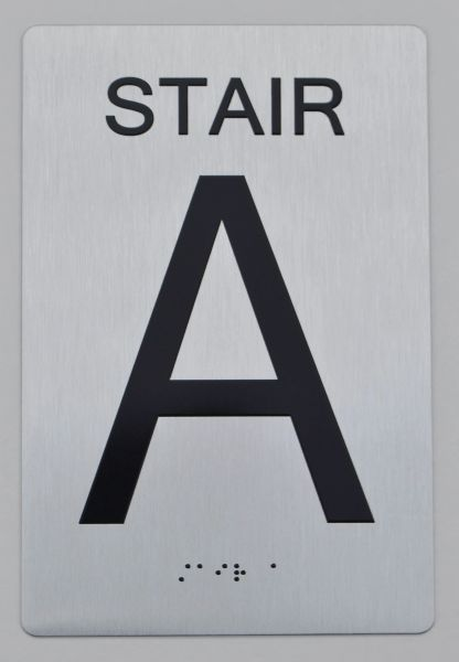 STAIR A ADA SIGN - The sensation line