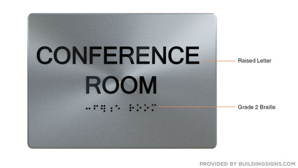 CONFERENCE ROOM Sign ADA Sign - The sensation line