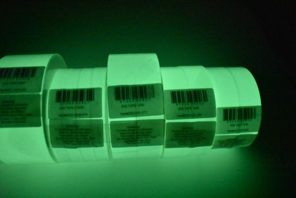 Self-adhesive Wall And Handrail Tape: High Performance Photoluminescent Tape. 60 feet x 1 inch width (2 pack of 1x30)
