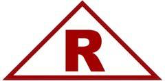 ROOF TRUSS IDENTIFICATION SIGN (STICKER 6x6x12 TRIANGLE)
