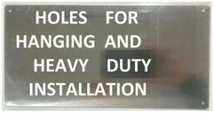 AUTOMATIC SPRINKLER ALL FLOORS SIGN (ALUMINUM SIGNS 6X12)