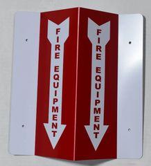 3D FIRE EQUIPMENT SIGN (3D projection signs 4X10)- Les Deux cotes line
