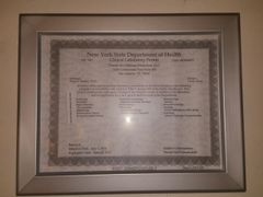 NYS Permit Frame (8.5 x 11) (Heavy Duty)