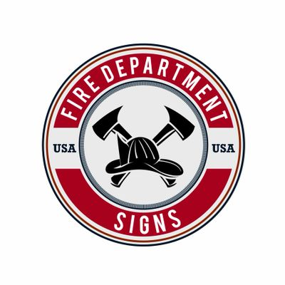 FIRE DEPARTMENT SIGNS