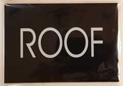 ROOF SIGN – BLACK (4X5.75)