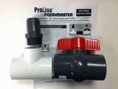 Valved Bypass Kit for Pondmaster Filters 15015