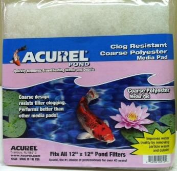Acurel Coarse Carbon-Infused Filter Pad ACU550