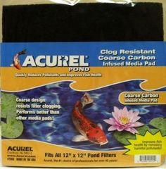 Acurel Coarse Poly and Carbon-Infused Pads ACU555