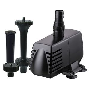 HWG 460 GPH PUMP & FOUNTAIN KIT SKU: 82430 HWG2430