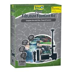 Tetra Pond - Pond Filtration Fountain Kits 26593 - 26594 - 26598