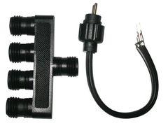 Alpine 2 prong Light Socket Connectors PL3 PL4 PL6