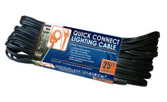 Alpine Lighting Cable 25 foot and 50 foot lengths PL350 & PL325