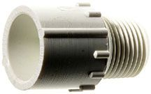 PVC Male Pipe Thread by Slip Adapters
