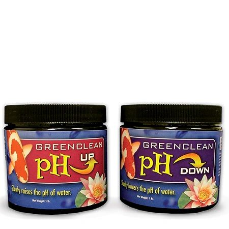 GreenClean pH UP and pH DOWN GRPH